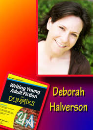 Giveaway! Win a signed copy of Deborah Halverson's Writing YA Fiction for Dummies!