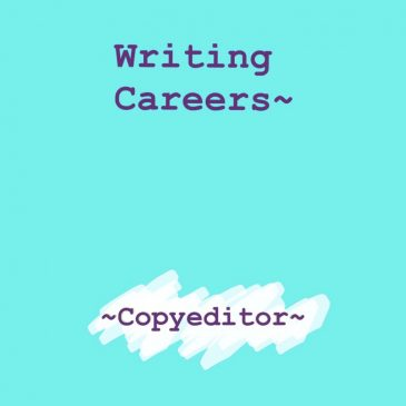 Writing Careers – Copyeditor